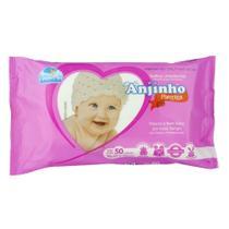 Toalhas Umedecidas Infantil Com 50 Unidades - Parentex -