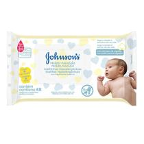 Toalhas Umedecidas Johnson's Baby Recém Nascido 48 Unidades - Jxj