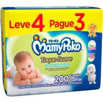 Toalhas Umedecidas MamyPoko 200 Unidades -