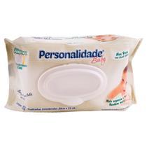 Toalhinhas umedecidas personalidade pacote c/ 100 unidades - Eurofral
