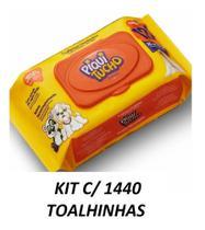 Toalhinhas Umedecidas Piquitucho c /120 - kit c/12 Pacotes - Feelclean -