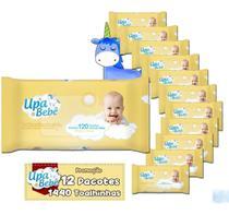 Toalhinhas Umedecidas Upa Bebê Lenços 12 pacotes Atacado -