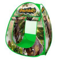 Toca Barraca Infantil Dinossauro Menino Dobrável Com Bolsa - Dm Toys