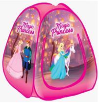 Toca Barraca Infantil Dobravel Pop Up Menina Princesa Mágica - Fabrincando