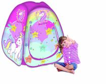 Toca Barraca Infantil Dobravel Pop Up Unicornio - Fabrincando -