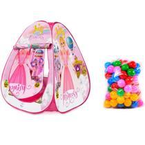 Toca Barraca Infantil Princesa Judy Com 100 Bolinhas - Samba Toys -