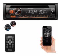 Toca cd mp3 player pioneer rádio fm som carro deh 1180 usb -