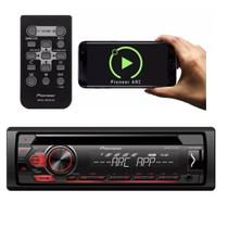 Toca Cd Player Pioneer Deh-s1150ub Android Mixtrax Mp3 4 Rca -