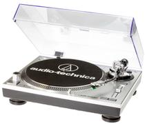 Toca Disco Audio Technica LP120 USB Bivolt Prata  AT-LP120-USB - Audio-technica