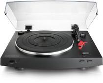 Toca Discos Audio Technica AT-LP3 BK Preto, Automático, Estéreo, Acionado por Correia - Audio-technica
