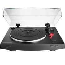 Toca discos Audio Technica AT-LP3BK acionado por correia totalmente automático -
