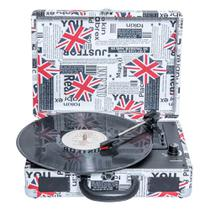 Toca-Discos Vinil Retrô London 46.998 Classic