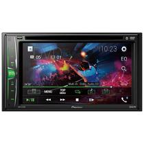 "Toca DVD Pioneer AVH-A215BT 6.2"""""""" Bluetooth/USB/DVD/CD/FM - Buybox"