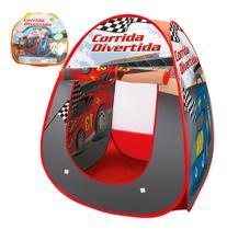 Toca Iglu Barraca Infantil Grande Carros Corrida Divertida - Dm toys