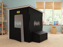 Toca  Infantil Batman com iluminação em LED e Farol BatSinal Maalu Decor -
