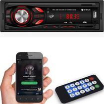 Toca Radio Bluetooth Fm Carro Mp3 Pen Automotivo Usb Sd Aux - E-Tech