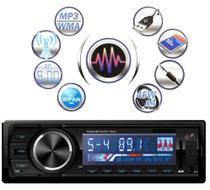 Toca Radio Bluetooth Fm Mp3 Automotivo Usb Sd Aux 3566bt - Dex