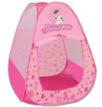 Toca Tenda Infantil Princesas Barraca Meninas Rosa Braskit -