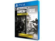 Tom Clancys Rainbow Six Siege - Edição Avançada - para PS4 Ubisoft