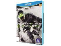 Tom Clancys Splinter Cell: Blacklist  - p/ Nintendo Wii U - Ubisoft