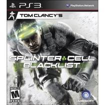 Tom Clancys Splinter Cell: Blacklist-  PS3 - Ubisoft