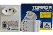 Tomada Com Controle Remoto Liga E Desliga A Distancia 500w Bivolt Lampadas Televisores Fechaduras Ventiladores - H-Tronic