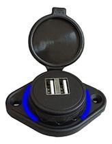 Tomada Extensora 2 Usb Carregador Veicular Roadstar -