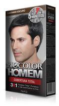Tonalizante Biocolor Homem Castanho Escuro 60ml -