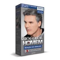 Tonalizante Biocolor Homem Redução de Grisalhos -