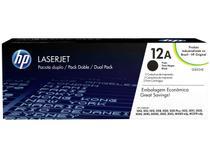 Toner HP Preto Pacote Duplo 12A LaserJet - Original