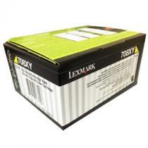 Toner Lexmark 708xy 70c8xy0 Amarelo Para Cs510 -