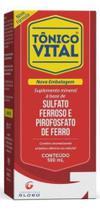 Tonico vital sol 500 ml sulf ferroso+assoc globo -