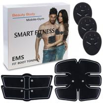 Tonificador muscular Abdominal Smart Fitness EMS Fit Boot Toning - Beauty body