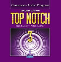Top notch 3 class audio program - 2nd ed - Pearson audio visual -
