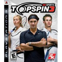 Top Spin 3 - Ps3 - 2K Sports