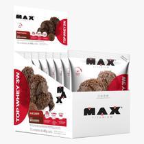 Top Whey 3W Display 10 Und. 40g - Max Titanium -