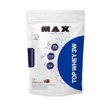 Top Whey 3w Mais Performance 1,8kg Refil Max Titanium -