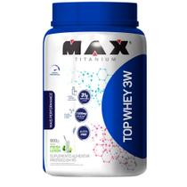 Top whey 3w mais performance - 900g - max titanium