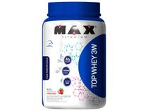 Top Whey 3w Mais Performance 900g Morango - Max Titanium -