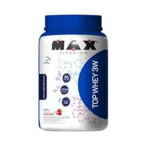 TOP WHEY 3W MAIS PERFORMANCE MAX TITANIUM 900g - MORANGO -