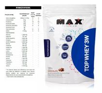 Top Whey Protein 3w Performance Chocolate 1,8kg - Max Titanium
