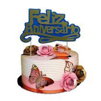 Topper cake cores diversos - Tos festas