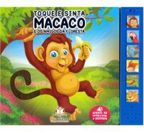 Toque e sinta sonoro  Macaco - Blu Editora