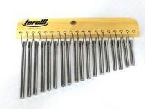 Torelli Carrilhão 18 Barras de Alumínio Natural TA308 -