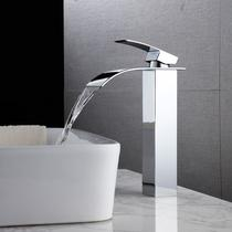 Torneira banheiro cascata monocomando misturador alta - M&A STORE