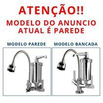 Torneira Metal Inox Gourmet com Filtro Luxo GPA - Brasil