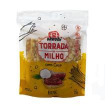 Torrada de Milho com Coco 75g Okoshi -