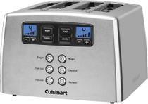 Torradeira Cuisinart - Touch to Toast Espaço para 4 Fatias de Pão - Aço inoxidável escovado-CPT-440 -