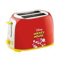 Torradeira Elétrica 850W Mickey Mouse 127V Mallory Vermelho -