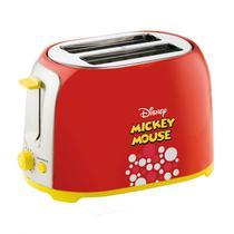 Torradeira Elétrica 850W Mickey Mouse 220V Mallory Vermelho -